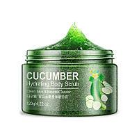 Скраб для тела BIOAQUA Body Scrub 120 г Cucumber увлажняющий 5550-18424, КОД: 2407054