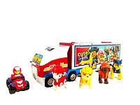 Детский автовоз гараж Щенячий Патруль с щенками