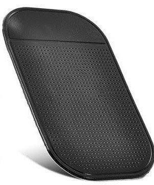 Антискользящий коврик в машину для телефона Good Idea 14 х 8 см Черный (i2046)