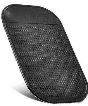 Антискользящий коврик в машину для телефона Good Idea 14 х 8 см Черный (i2046), фото 2