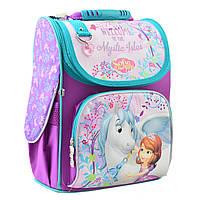Рюкзак шкільний каркасний 1 Вересня H-11 Sofia Фіолетовий 556150, КОД: 1247922