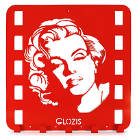 Вешалка настенная Glozis Monroe H-001 50 х 50 см, КОД: 241743