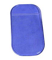 Антискользящий коврик в машину для телефона 14 х 8 см Good Idea Синий (5114ksi2941)