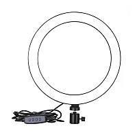 Кольцевая светодиодная LED лампа селфи-кольцо AUMVS F-200A 4823-14444, КОД: 2402223