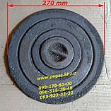 Кольца конфорки, чугунные (набор) буржуйка, печи, котлы, барбекю, мангал (270 мм), фото 2