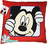 Подушка Disney Микки Маус Веселун 31х33х11 ПД-0219, КОД: 2428050