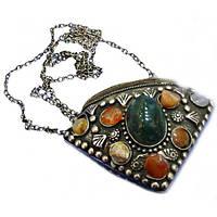 Аромакулон бронзовый с камнями 6X6.5 см 4127, КОД: 1368309