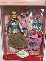 Кукла Кукла как Барби JX300-6 2 вида,с аксессуарами,в кор.25*6*35 см, р-р игрушки 29 см