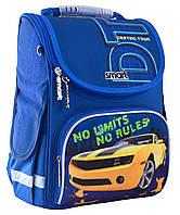 Рюкзак шкільний каркасний Smart PG-11 No Limits Синій 555989, КОД: 1247919