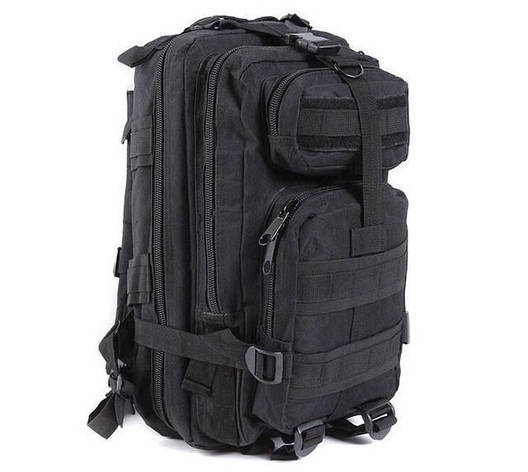 Тактический рюкзак с USB Molle Assault 36L Black (gr007031), фото 2
