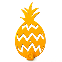 Вешалка настенная Крючок Glozis Pineapple H-031 12 х 7 см, КОД: 241778