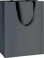Пакет подарочный Stewo Astor black 25 х 13 х 33 cm, КОД: 2452374