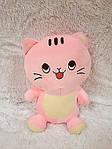 Плед - мягкая игрушка 3 в 1  Котик розовый (108), фото 2