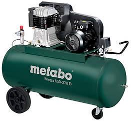 Компрессор Metabo Mega 650-270 D 601543000, КОД: 2402903
