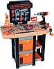 Игровой набор Smoby 360315 Black+Decker Мобильная мастерская с инструментами, 37 акс.