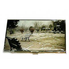 Визитница металлическая с рисунком Darshan 79998, КОД: 1368517
