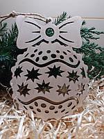 Новорічні ялинкові прикраси. Ялинкові прикраси з фанери. Новогодние украшения на елку.