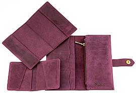Подарочный комплект Valenta 3 в 1 Бордовый ПН2BOR, КОД: 186910