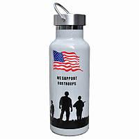 Туристический термос Han-Wild Outdoor American flag Стальной 4875-14285, КОД: 1917167