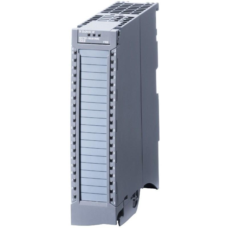 6ES7521-1BH00-0AB0  SIMATIC S7-1500, МОДУЛЬ ДИСКРЕТНЫХ ВХОДОВ DI16 X DC24V