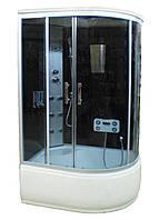 Гидромассажный бокс SunLight 218R L R 85х120х200 см FM сенсорная Черный, КОД: 1371014