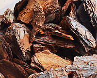 Сосновая кора крупной фракции (60-130 мм)