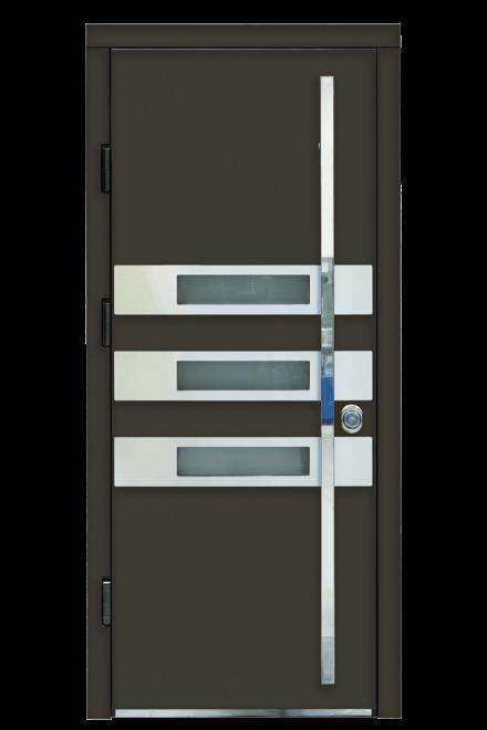 Входная металлическая дверь ТРИО