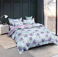 Двоспальне постільна білизна з сатину.