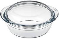 Кастрюля Bergner San Ignacio из жаропрочного стекла 1.6л с крышкой 0.5л psgBGEU-1957, КОД: 2369809