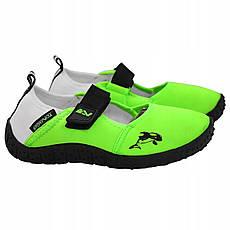 Обувь для пляжа и кораллов (аквашузы) SportVida SV-DN0010-R24 Size 24 Green, фото 2