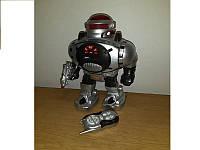 Детский интерактивный робот M 0465 Воин Галактики стреляет дисками,Робот 0465 на радиоуправлении