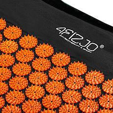 Коврик акупунктурный 4FIZJO Аппликатор Кузнецова 128 x 48 см 4FJ0047 Black/Orange, фото 3