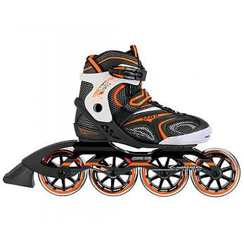 Роликовые коньки Nils Extreme NA1060S Size 42 Black/Orange, фото 2