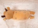 Плед - мягкая игрушка 3 в 1  Оленёнок золотой (112), фото 3