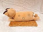 Плед - мягкая игрушка 3 в 1  Оленёнок золотой (112), фото 2