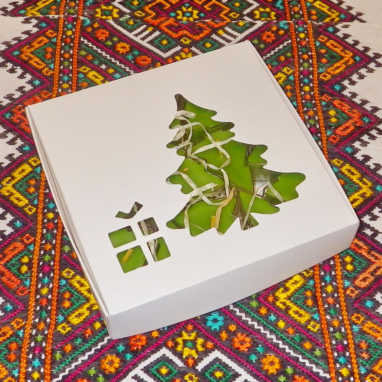 Новорічний набір чайних свічок воскових Ялинка (15шт.)