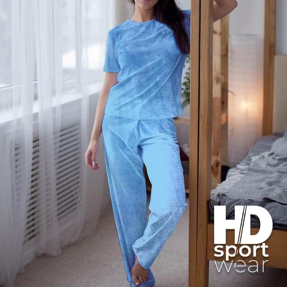 Женские велюровые пижамки Victoria Secret's
