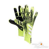 Вратарские перчатки adidas Predator 20 Pro Signal green/Black/Energy ink/White