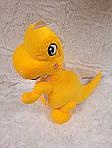Плед мягкая игрушка 3 в 1  Динозаврик желтый (114), фото 3