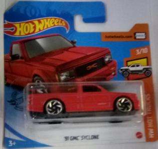 Машинка Hot Wheels 2020 '91 GMC Syclone