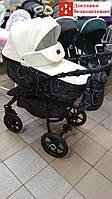 Универсальная коляска 2в1 Victoria Gold Classic Белый Эко кожа, фото 1