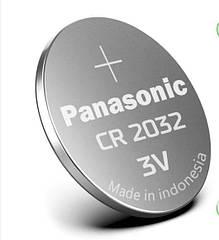 Батарейка Panasonic CR2032 hubCYYF81355, КОД: 1650187