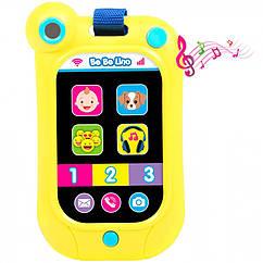 Інтерактивний смартфон BeBeLino жовтий 58161, КОД: 2433103
