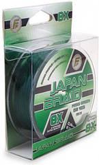 Шнур рыболовный Lineaeffe FF Japan Braid 8X Moss Green 135м 150yds 0.10мм FishTest-6.00кг, КОД: 2452388