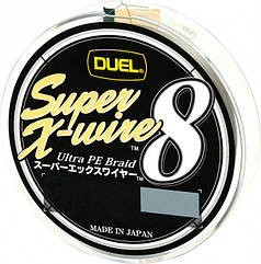 Шнур рыболовный Yo-Zuri Duel Super X-Wire 8 150 м 0.13 мм 5.8 кг 0.6 Серебристый, КОД: 2452648