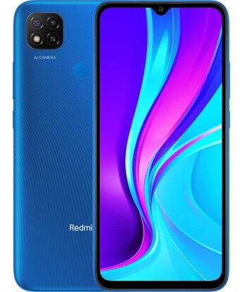 "Смартфон Xiaomi Redmi 9C 2/32GB Global Blue, 13+2/5Мп, Helio G35, 2sim, 6.53"", 5000 mAh, 4G"