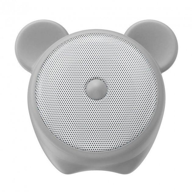 Портативная акустика Baseus Q E06 Zodiac Bluetooth Мышка Светло-серая (NGE06-0G)