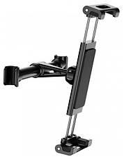 Автодержатель для планшета Baseus Back Seat Car Mount Holder Черный (SUHZ-01), фото 2