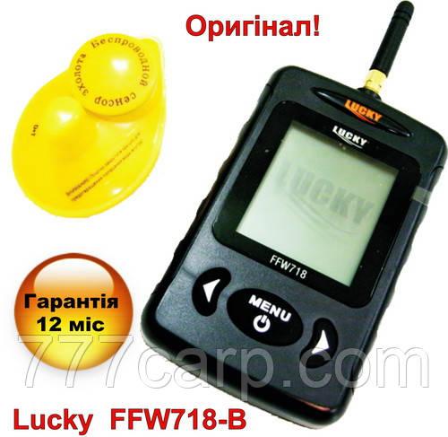 Lucky FFW718-BLK Беспроводной эхолот для рыбалки новая версия в черном корпусе, новый дизайн