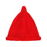 Шапка бини Beaniqe Капля Drop One size Красный 22873, КОД: 1895939